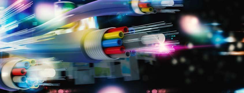 Fibra ottica centraline ottiche e rete dati